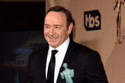 Actor Kevin Spacey, winner of the Male Actor in a Drama Series award for 'House of Cards' poses in the press room during The 22nd Annual Screen Actors Guild Awards at The Shrine Auditorium on January 30, 2016 in Los Angeles, California. 25650_015