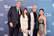 (L-R) Adam McKay, Lorene Scafaria, Mitchell Travers and Constance Wu attend the 22nd CDGA (Costume Designers Guild Awards) at The Beverly Hilton Hotel on January 28, 2020 in Beverly Hills, California.