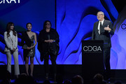 Honoree Adam McKay accepts the Distinguished Collaborator award onstage during the 22nd CDGA (Costume Designers Guild Awards) at The Beverly Hilton Hotel on January 28, 2020 in Beverly Hills, California.