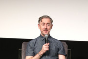 Alan Cumming speaks onstage at In Conversation With Alan Cumming during the 22nd SCAD Savannah Film Festival on October 29, 2019 at SCAD Museum of Art in Savannah, Georgia.