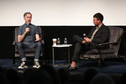 Alan Cumming (L) and Sam Lansky speak onstage at In Conversation With Alan Cumming during the 22nd SCAD Savannah Film Festival on October 29, 2019 at SCAD Museum of Art in Savannah, Georgia.