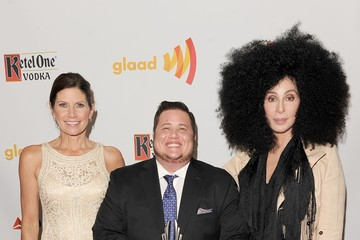 Chaz Bono Mary Bono Mack 23rd Annual GLAAD Media Awards Presented By Ketel One And Wells Fargo - Backstage