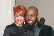 Dorinda Clark-Cole and Mali Music attend the 23rd Annual Trumpet Awards at Cobb Energy Performing Arts Center on January 24, 2015 in Atlanta, Georgia.
