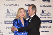 Catherine O'Hara and Bo Welch attend the 24th Annual Art Directors Guild Awards  at InterContinental Los Angeles Downtown on February 01, 2020 in Los Angeles, California.