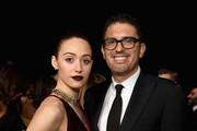 Emmy Rossum (L) and Sam Esmail attend the 24th annual Critics' Choice Awards at Barker Hangar on January 13, 2019 in Santa Monica, California.