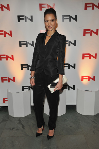 Jessica Alba attends the 24th Annual Footwear News Achievement Awards at The Museum of Modern Art on November 30, 2010 in New York City.