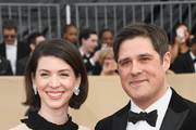 Virginia Donohoe and actor Rich Sommer attend the 24th Annual Screen Actors Guild Awards at The Shrine Auditorium on January 21, 2018 in Los Angeles, California.
