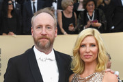 Actors Matt Walsh (L) and Morgan Walsh attend the 24th Annual Screen ActorsGuild Awards at The Shrine Auditorium on January 21, 2018 in Los Angeles, California.