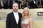 Actors Matt Walsh and Morgan Walsh attend the 24th Annual Screen ActorsGuild Awards at The Shrine Auditorium on January 21, 2018 in Los Angeles, California.