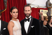 Maria Dolores Dieguez (L) and actor Joseph Fiennes attends the 24th Annual Screen ActorsGuild Awards at The Shrine Auditorium on January 21, 2018 in Los Angeles, California.