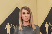 Actor Natalie Zea attends the 24th Annual Screen ActorsGuild Awards at The Shrine Auditorium on January 21, 2018 in Los Angeles, California.