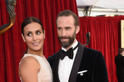 Actors Maria Dolores Dieguez and Joseph Fiennes attend the 24th Annual Screen ActorsGuild Awards at The Shrine Auditorium on January 21, 2018 in Los Angeles, California.