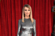 Actor Natalie Zea attends the 24th Annual Screen Actors Guild Awards at The Shrine Auditorium on January 21, 2018 in Los Angeles, California. 27522_009
