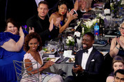 (Top-bottom right) Actors Susan Kelechi Watson, Justin Hartley, Chrissy Metz, Ryan Michelle Bathe, and Sterling K. Brown during the 24th Annual Screen Actors Guild Awards at The Shrine Auditorium on January 21, 2018 in Los Angeles, California. 27522_014