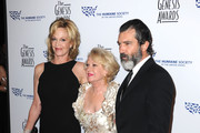 Actors Melanie Griffith, Tippi Hedren and Antonio Banderas arrive at the 24th Genesis Awards held at the Beverly Hilton Hotel on March 20, 2010 in Beverly Hills, California.