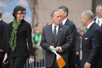 Michael Bloomberg Diana Taylor 250th Annual New York City St. Patrick's Day Parade