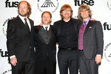 Page McConnell 25th Anniversary Rock & Roll Hall Of Fame Induction Ceremony- Press Room