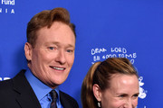 Conan O'Brien and Liza Powel Photos Photo