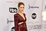 Jordana Spiro arrives at the 25th Annual Screen Actors Guild Awards at the The Shrine Auditorium on January 27, 2019 in Los Angeles, California.