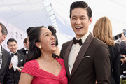 Shelby Rabara and Harry Shum Jr. attend the 25th Annual Screen Actors Guild Awards at The Shrine Auditorium on January 27, 2019 in Los Angeles, California.