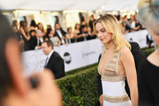 Margot Robbie attends the 25th Annual Screen Actors Guild Awards at The Shrine Auditorium on January 27, 2019 in Los Angeles, California. 480543
