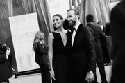 This image has been converted to black and white. A color version is available.) Maria Dolores Dieguez (L) and Joseph Fiennes attend the 25th Annual Screen Actors Guild Awards at The Shrine Auditorium on January 27, 2019 in Los Angeles, California. 480518