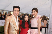 Gemma Chan and Henry Golding Photos Photo