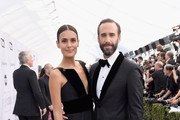 Maria Dolores Dieguez and Joseph Fiennes attends the 25th Annual Screen Actors Guild Awards at The Shrine Auditorium on January 27, 2019 in Los Angeles, California.