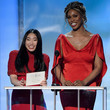 Laverne Cox and Awkwafina Photos
