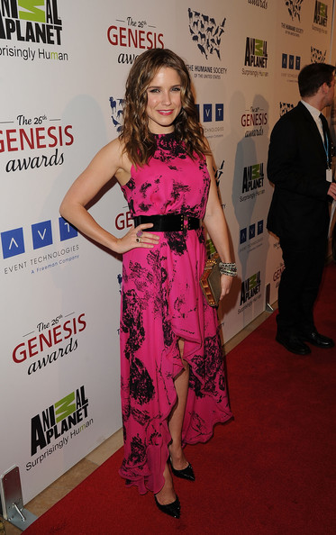 Sophia+Bush in 26th Annual Genesis Awards
