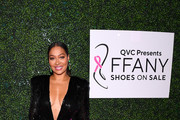 """La La Anthony attends the 26th Annual QVC Presents """"FFANY Shoes On Sale"""" Gala on October 10, 2019 in New York City."""