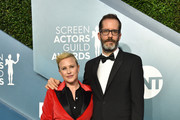(L-R) Patricia Arquette and Eric White attend the 26th Annual Screen ActorsGuild Awards at The Shrine Auditorium on January 19, 2020 in Los Angeles, California. 721430