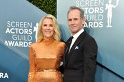 Catherine O'Hara (L) and Bo Welch attend the 26th Annual Screen ActorsGuild Awards at The Shrine Auditorium on January 19, 2020 in Los Angeles, California. 721430