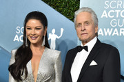 (L-R) Catherine Zeta-Jones and Michael Douglas attend the 26th Annual Screen Actors Guild Awards at The Shrine Auditorium on January 19, 2020 in Los Angeles, California. 721430