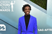 Caleb McLaughlin attends the 26th Annual Screen ActorsGuild Awards at The Shrine Auditorium on January 19, 2020 in Los Angeles, California. 721430