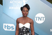 Lupita Nyong'o attends 26th Annual Screen Actors Guild Awards at The Shrine Auditorium on January 19, 2020 in Los Angeles, California.