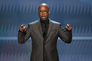 SAG-AFTRA Foundation President Courtney B. Vance speaks onstage at the 26th Annual Screen ActorsGuild Awards at The Shrine Auditorium on January 19, 2020 in Los Angeles, California. 721359