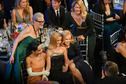 (L-R) Meryl Streep (standing), Zoë Kravitz, Reese Witherspoon, Nicole Kidman, and Laura Dern (standing) attend the 26th Annual Screen Actors Guild Awards at The Shrine Auditorium on January 19, 2020 in Los Angeles, California. 721384