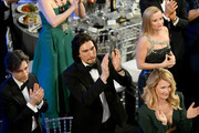 (L-R) Noah Baumbach, Adam Driver, Reese Witherspoon, and Laura Dern attend the 26th Annual Screen Actors Guild Awards at The Shrine Auditorium on January 19, 2020 in Los Angeles, California. 721384