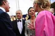 Scott Stuber, Michael Douglas, Catherine Zeta-Jones and Molly Sims attend the 26th Annual Screen Actors Guild Awards at The Shrine Auditorium on January 19, 2020 in Los Angeles, California. 721384