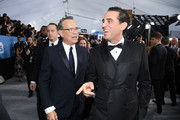 (L-R) Tom Hanks and Bobby Cannavale attend the 26th Annual Screen ActorsGuild Awards at The Shrine Auditorium on January 19, 2020 in Los Angeles, California. 721407