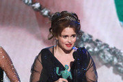 Helena Bonham Carter speaks onstage during the 26th Annual Screen Actors Guild Awards at The Shrine Auditorium on January 19, 2020 in Los Angeles, California.