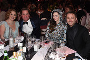 (L-R) Gillian Hearst-Shaw, Christian Simonds, Lydia Hearst and Chris Hardwick attend the 27th annual Elton John AIDS Foundation Academy Awards Viewing Party sponsored by IMDb and Neuro Drinks celebrating EJAF and the 91st Academy Awards on February 24, 2019 in West Hollywood, California.