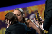 Brie Larson and Lenny Abrahamson Photos Photo