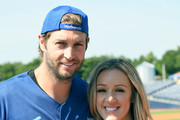 Jay Cutler and Megan Alexander arrive at the 28th Annual City of Hope Celebrity Softball Game on June 9, 2018 in Nashville, Tennessee.