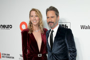 (L-R) Janet McCormack and Eric McCormack attend the 28th Annual Elton John AIDS Foundation Academy Awards Viewing Party sponsored by IMDb, Neuro Drinks and Walmart on February 09, 2020 in West Hollywood, California.