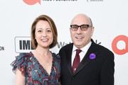 (L-R) Mary Lisio and Willie Garson attend the 28th Annual Elton John AIDS Foundation Academy Awards Viewing Party sponsored by IMDb, Neuro Drinks and Walmart on February 09, 2020 in West Hollywood, California.