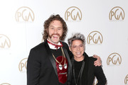 Actor T. J. Miller (L) and guest attend the 28th Annual Producers Guild Awards at The Beverly Hilton Hotel on January 28, 2017 in Beverly Hills, California.
