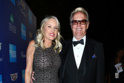 Margaret DeVogelaere (L) and Peter Fonda attend the 29th Annual Palm Springs International Film Festival Awards Gala at Palm Springs Convention Center on January 2, 2018 in Palm Springs, California.