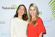 Bree Turner and Jamie Anderson attend the 2nd Annual Bloom Summit at The Beverly Hilton Hotel on June 01, 2019 in Beverly Hills, California.